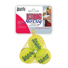 KONG AIR DOG TENNIS BALL WITH SQUEAKER SMALL 3τμχ