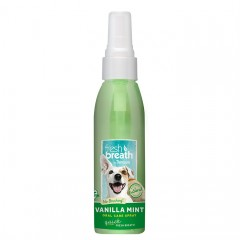 TROPICLEAN ORAL CARE VANILLA MINT SPRAY 118ML