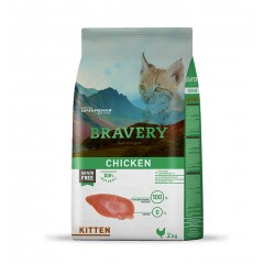 BRAVERY GRAIN FREE KITTEN CHICKEN 2KG