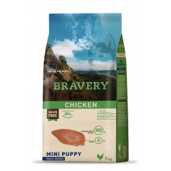 BRAVERY GRAIN FREE PUPPY MINI DOG 2KG