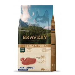 BRAVERY GRAIN FREE ADULT MINI IBERIKO (ΑΓΡΙΟΧΟΙΡΟΣ) DOG 2KG
