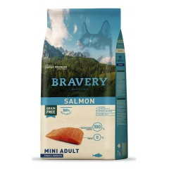 BRAVERY GRAIN FREE ADULT MINI SALMON DOG 2KG
