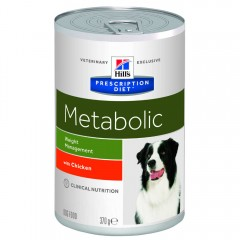 HILL'S PD CANINE METABOLIC  370GR