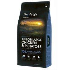 PROFINE JUNIOR LARGE CHICKEN & POTATOES 3Kg