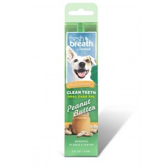 TROPICLEAN CLEAN TEETH PEANUT BUTTER GEL 59ml