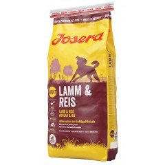 Josera LAMB & RICE GLUTEN FREE 15 kg