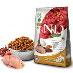 N & D QUINOA SKIN & COAT QUAIL 2.5kg