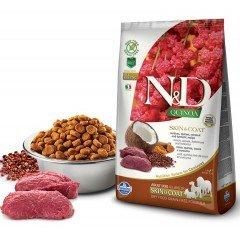 N & D QUINOA SKIN & COAT VENISON 2.5kg