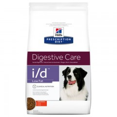 Hill's Prescription Diet i/d Digestive Care Low Fat Για Σκύλους Με Κοτόπουλο 12kg