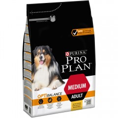 Pro Plan  ADULT MEDIUM OPTIBALANCE ΚΟΤΟΠΟΥΛΟ 14kg + 2,5kg Δώρο