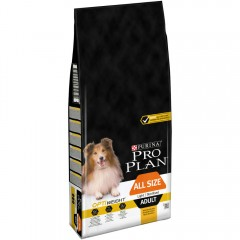 PRO PLAN ADULT OPTIWEIGHT LIGHT / STERILISED ALL SIZES 14Kg + 2,5KG ΔΩΡΟ