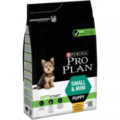 Pro Plan PUPPY Small & Mini optistart κοτόπουλο  3 kg