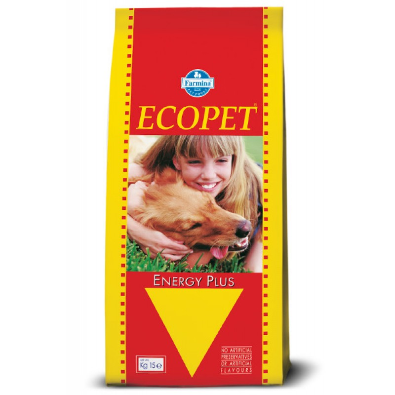 ECOPET ENERGY PLUS  (FARMINA TEAM BREEDER TOP) 15KG ΞΗΡΑ ΤΡΟΦΗ ΣΚΥΛΟΥ