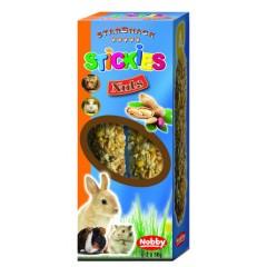 Nobby Bunny Sticks με ξηρούς καρπούς 2 x 56gr