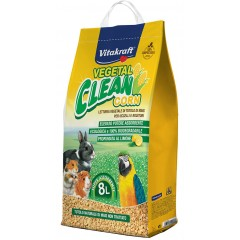 Vitakraft Πέλετ Vegetal Clean Corn 8lt