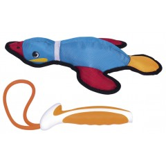 Nobby Λούτρινο παιχνίδι Duck Xtra Strong  34cm με σφεντόνα.