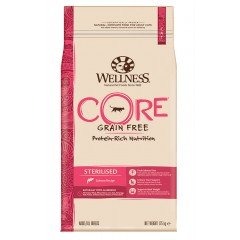 WELLNESS CORE CAT STERILIZED ΣΟΛΟΜΟΣ 10Kg