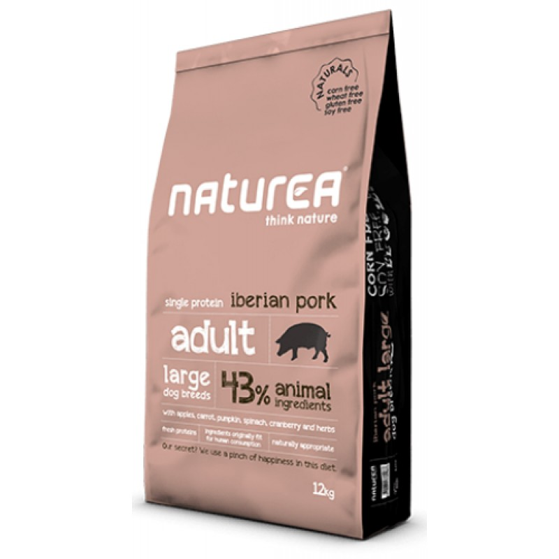 NATUREA NATURALS ADULT LARGE IBERIAN PORK 12KG