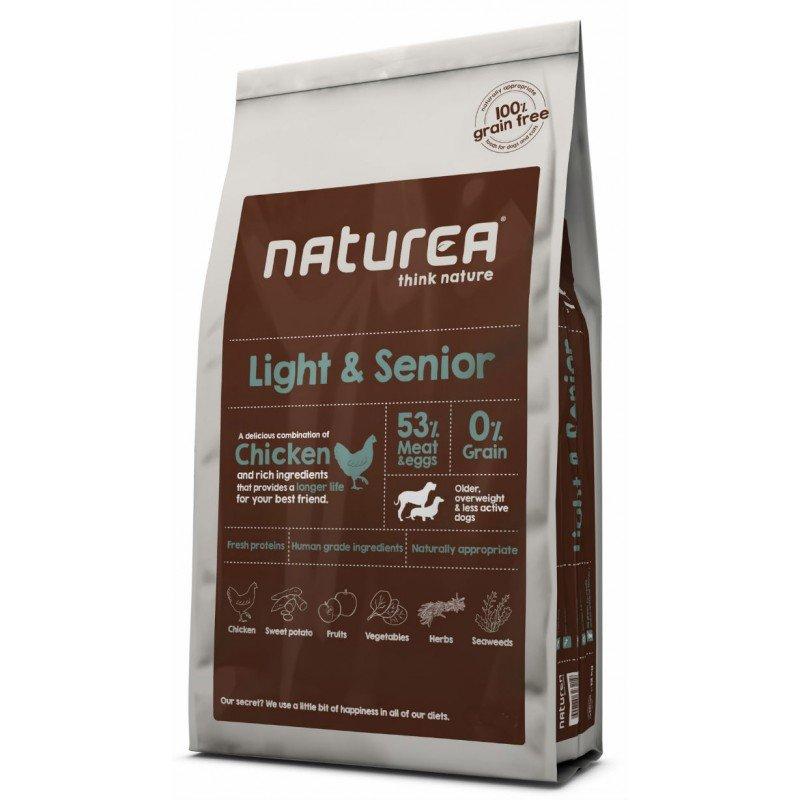 NATUREA GRAIN FREE LIGHT AND SENIOR 2KG