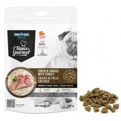 Λιχουδιές  MediterraneanTapas Gourmet με κοτόπουλο & γαλοπούλα 190gr