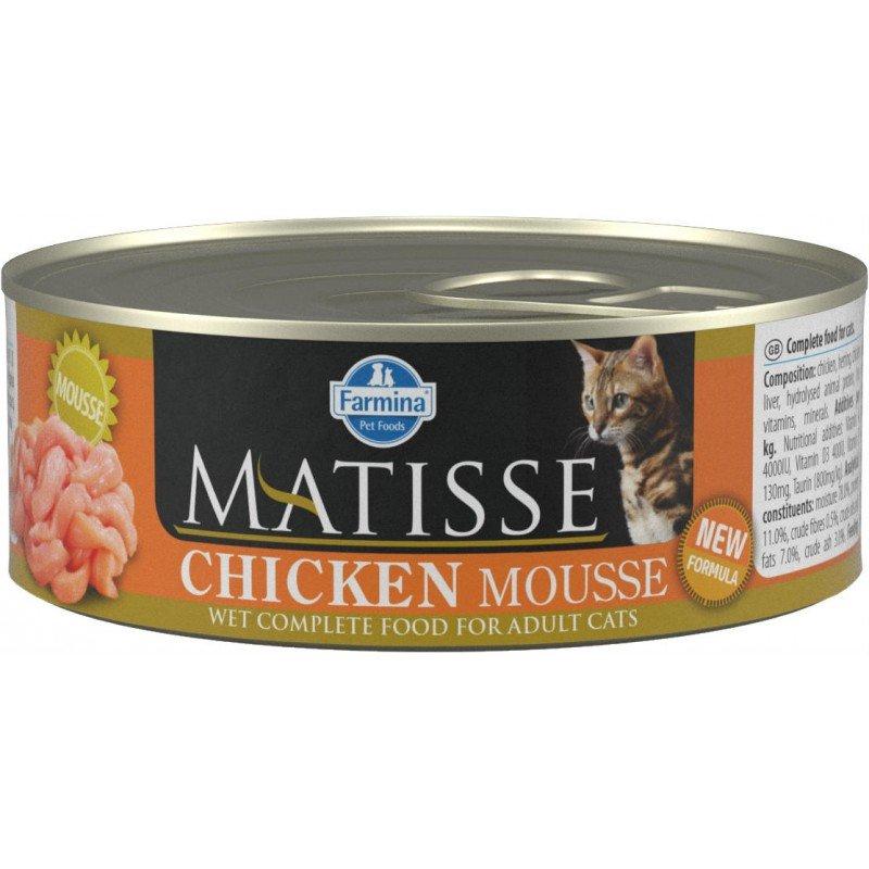 Matisse wet food Chicken 85gr ΥΓΡΗ ΤΡΟΦΗ -  ΚΟΝΣΕΡΒΕΣ ΓΑΤΑΣ