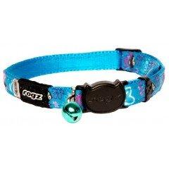 Περιλαίμιο Γάτας Rogz Neo Turquoise  Candystripes Small 1,1cm x20-31cm