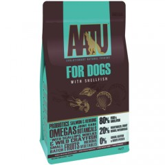 AATU GRAIN FREE DOG ADULT SHELLFISH 1,5KG