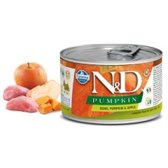 N & D PUMPKIN WET BOAR & APPLE 140GR (3 + 3 ΔΩΡΟ)