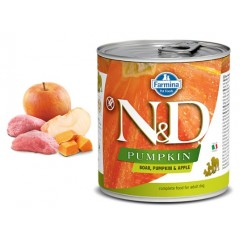 N & D PUMPKIN WET BOAR & APPLE 285GR (3 + 3 ΔΩΡΟ)
