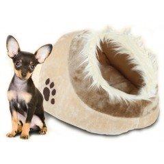 Κρεβατάκι-φωλιά για γάτες και μικρούς σκύλους Vitakraft 41x28x26h Μπεζ