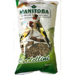 Manitoba Cardellini τροφή για Καρδερίνες & Αγριοπούλια 1kg