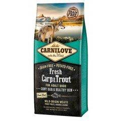 Carnilove Adult Fresh Carp & Trout 12kg + 1,5kg Δώρο