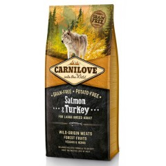 Carnilove Adult Large Breed Salmon and Turkey 12kg