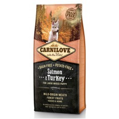 Carnilove Puppy Large Breed Salmon & Turkey 12kg