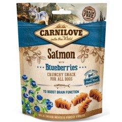 Λιχουδιές Carnilove Snack Fresh & Crunchy Salmon with Blueberries 200gr