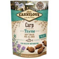 Λιχουδιές Carnilove Snack Soft Carp & Thyme 200gr