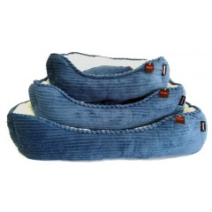ΚΡΕΒΑΤΑΚΙ PET INTEREST DARBY BLUE SMALL  46x35,5x15cm