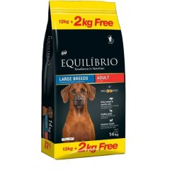 EQUILIBRIO ADULT LARGE BREED 12KG +2KG ΔΩΡΟ