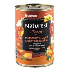 NATUREST ADULT LAMB AND PROSCIUΤTO WITH COTTAGE CHEESE 400GR