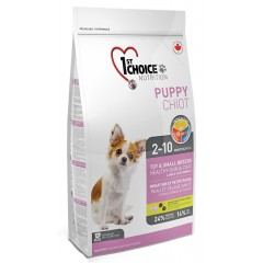 1st CHOICE Puppy Toy & Small Breeds αρνί & ψάρι 7kg