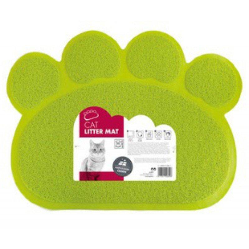 Πατάκι Για Λεκάνη Γάτας M-Pets 60x45cm Πράσινο ΓΑΤΕΣ