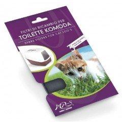 Ανταλλακτικό Φίλτρο Άνθρακα Mps Για Κλειστή Τουαλέτα Γάτας Komoda