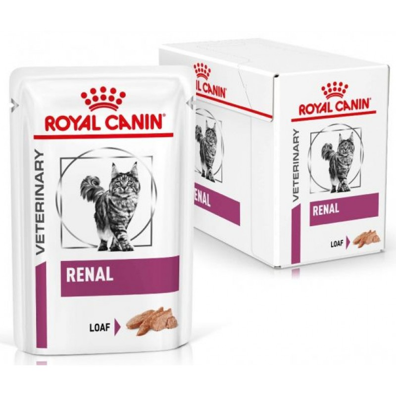 Royal Canin Diet Cat Renal Loaf 12x85gr (12 Τεμάχια) ΥΓΡΗ ΤΡΟΦΗ -  ΚΟΝΣΕΡΒΕΣ ΓΑΤΑΣ
