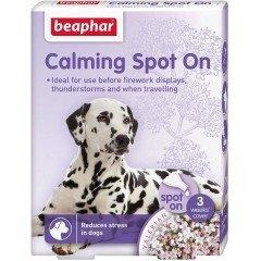 Beaphar Spot On Calming Αμπούλες Σκύλου 3τμχ