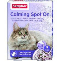 Beaphar Spot On Calming Αμπούλες Γάτας 3τμχ