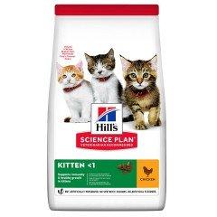 Hill's Science Plan Kitten Healthy Development Για Γάτες Με Κοτόπουλο 1,5kg