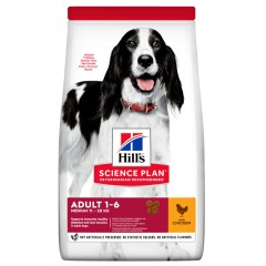 Hill's Science Plan Adult Advanced Fitness Medium Για Σκύλους Με Κοτόπουλο 2.5kg