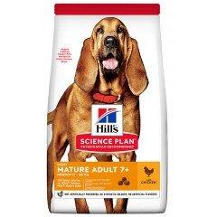 Hill's Science Plan Mature Adult +7 Light Για Σκύλους 14kg Με Κοτόπουλο