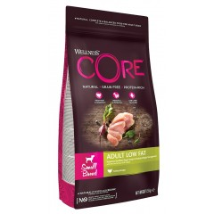 Wellness Core Low Fat - Healthy Weight Small Breed Γαλοπούλα 1,5kg