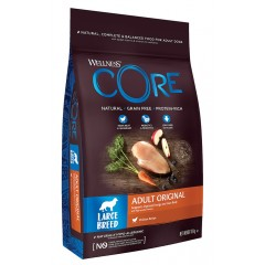 Wellness Core Adult Large Breed Turkey & Chicken 10kg + Δώρο Παιχνίδι Rogz